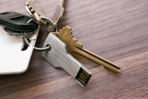Key Shaped Memory Stick